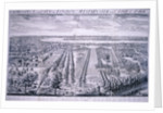 Panoramic view of London by Johannes Kip