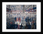 Laying of the foundation stone of new London Bridge on 15 June 1825. by Anonymous
