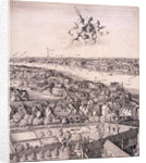 Panoramic view of London by Wenceslaus Hollar