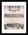 Panoramic view of London by Wenceslaus Hollar