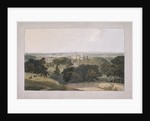 Greenwich Park, London by William Daniell