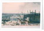 View of London by William Daniell