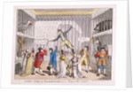 Sir Francis Burdett's imprisonment in the Tower of London by Anonymous