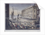 Billingsgate Market and Wharf, London by