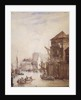 Billingsgate Wharf, London by Samuel Owen