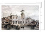 Billingsgate Wharf and Market, London by