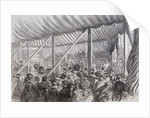 Queen Victoria Opening Blackfriars Bridge, London by Anonymous