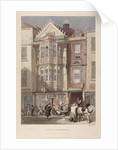 Paul Pindar Tavern, Bishopsgate, London by John Wykeham Archer