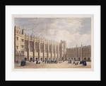 Christ's Hospital, London, c1825 by