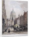 Fleet Street, London, c1850 by Lemercier