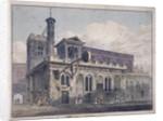 St Dunstan in the West, London by George Shepherd