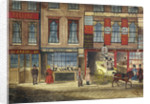 Shops in Fleet Street, London by Anonymous