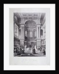 Great Synagogue, Dukes Place, London by