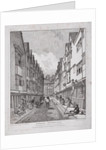 Great Winchester Street, London by John Thomas Smith