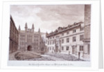 Guildhall, London by John Chessell Buckler
