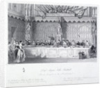 Lord Mayor's Banquet, Guildhall, London by