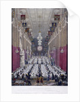 The Lord Mayor's Dinner at Guildhall, London by Anonymous