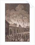 London Bridge (old), London by Charles Grignion