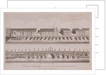 Two Views of London Bridge (old), London by A Birrell