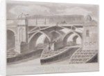 London Bridge (old), London by James Basire I