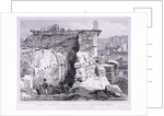 London Bridge (old), London by Edward William Cooke