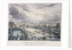 London Bridge (new), London by Charles Etienne Pierre Motte