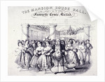 The Mansion House Ball, a Favourite Comic Ballad by Anonymous