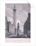 Monument, London by Philip Audinet