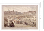 View of Smithfield Market, London by Anonymous