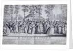 Jubilee Venetian masquerade ball in Ranelagh Gardens, Chelsea, London by Nathaniel Parr