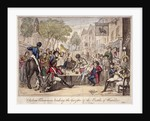 Chelsea Pensioners reading the gazette of the Battle of Waterloo, Chelsea, London, 1815 by
