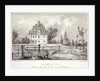View of Baumes House, Hoxton, London, c1830? by