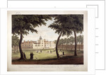View of Charterhouse, Finsbury, London by Robert Havell