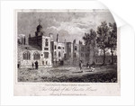 The chapel at Charterhouse with figures, Finsbury, London by Thomas Higham