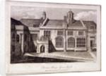 The Great Hall in Charterhouse, Finsbury, London by Samuel Owen