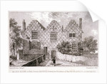 View of a house in Wells Street, Hackney, London by Anonymous