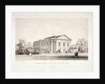 St Thomas Square chapel and schools, Hackney, London by F Ireland