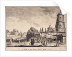 View of New River Head, Finsbury, London by