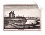View of the area around New River Head, Finsbury, London by Wenceslaus Hollar