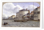View of the Crown And Sceptre Inn, Greenwich, London by