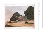 The south lodge at the Ranger's House, Greenwich, London by Paul Sandby