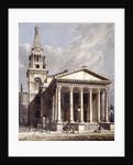St George, Bloomsbury, Holborn, London by George Shepherd
