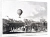 Vincenzo Lunardi's balloon ascending from Artillery Ground, City Road, Finsbury, London by