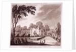 One tree field, Kensington, London by J Wells