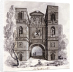 Aldersgate, London, 1800? by Anonymous