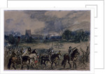Study for Margaret of Anjou taken Prisoner after the Battle of Tewkesbury by Sir John Gilbert