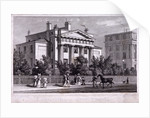Villa at Regent's Park, Marylebone, London by W Watkins