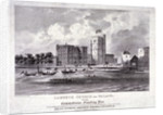 Lambeth Church and Palace, London by F Alvey