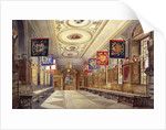 Interior of Stationers' Hall, London by John Crowther