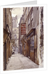Botolph Alley, London by John Crowther